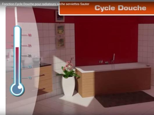 Découvrez la fonction cycle douche de Sauter