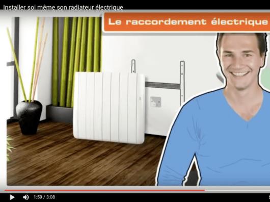 Le chauffage lectrique confort sauter - Installer un radiateur electrique ...