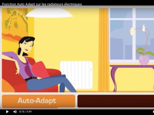 Radiateur électrique Auto Adapt