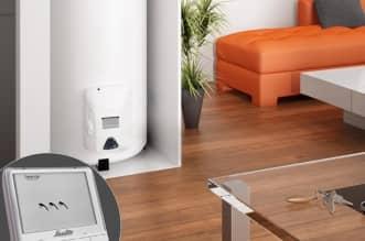 Chauffe-eau électrique ACI hybride intelligent Prodigio Vertical sur Socle