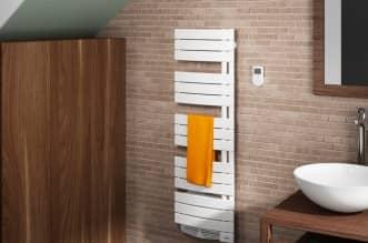 Radiateur sèche-serviettes Venise Slim ventilo Triple Confort Système