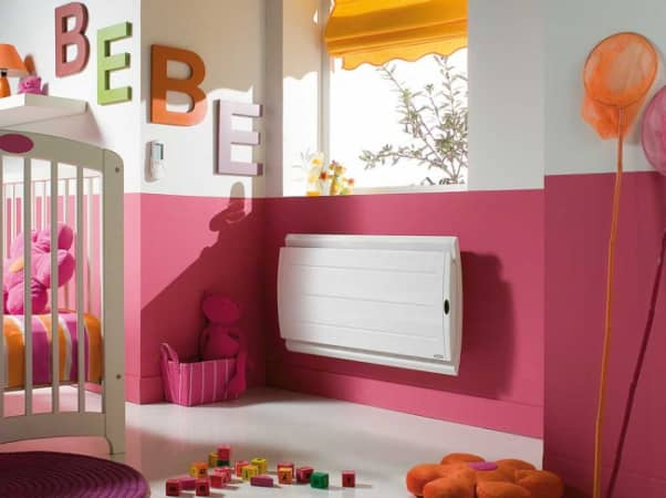 Quel radiateur électrique choisir pour une chambre de bébé ?