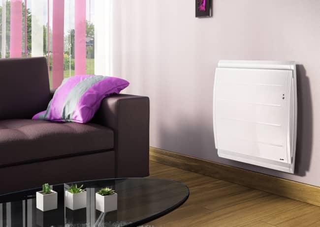 Radiateur à chaleur douce et inertie programmable Boléro Horizontal Auto adapt