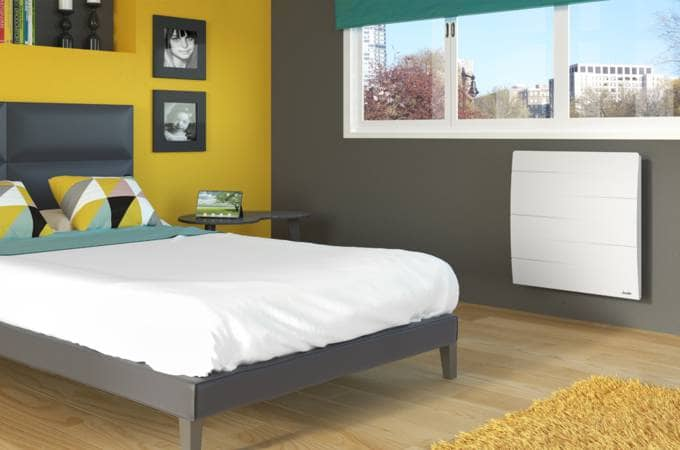 radiateur connect inertie fonte malao confort sauter. Black Bedroom Furniture Sets. Home Design Ideas