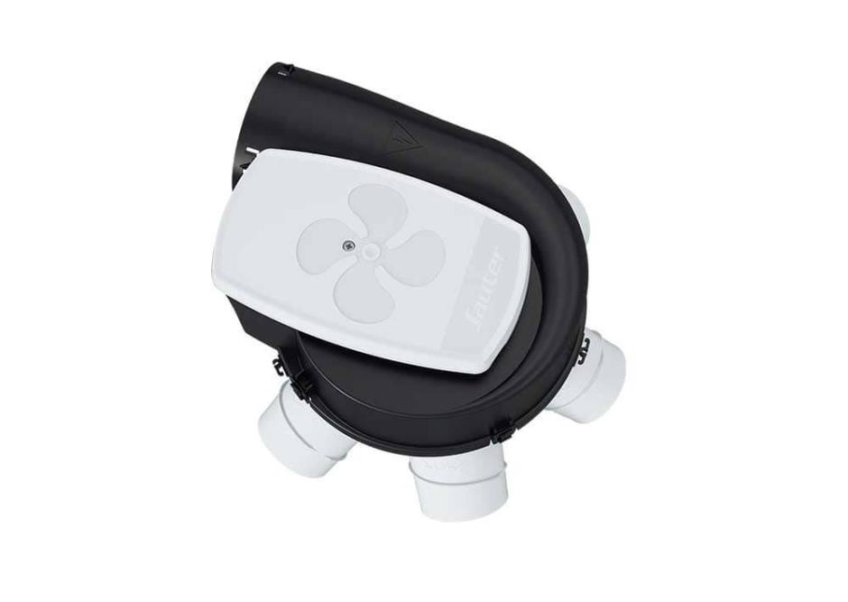 VMC simple flux auto réglable Agalina Grand Logement Kit - Confort Sauter
