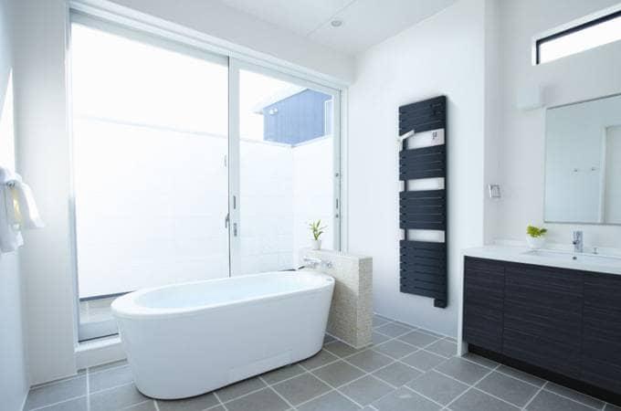 sèche-serviettes 3cs® électrique asama ventilo - confort sauter - Chauffer Une Salle De Bain Avec Un Seche Serviette