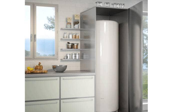 Chauffe eau bajawa vertical sur socle confort sauter for Anode de chauffe eau