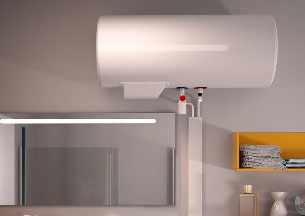 chauffe eau lectrique aci hybride essentiel horizontal confort sauter. Black Bedroom Furniture Sets. Home Design Ideas