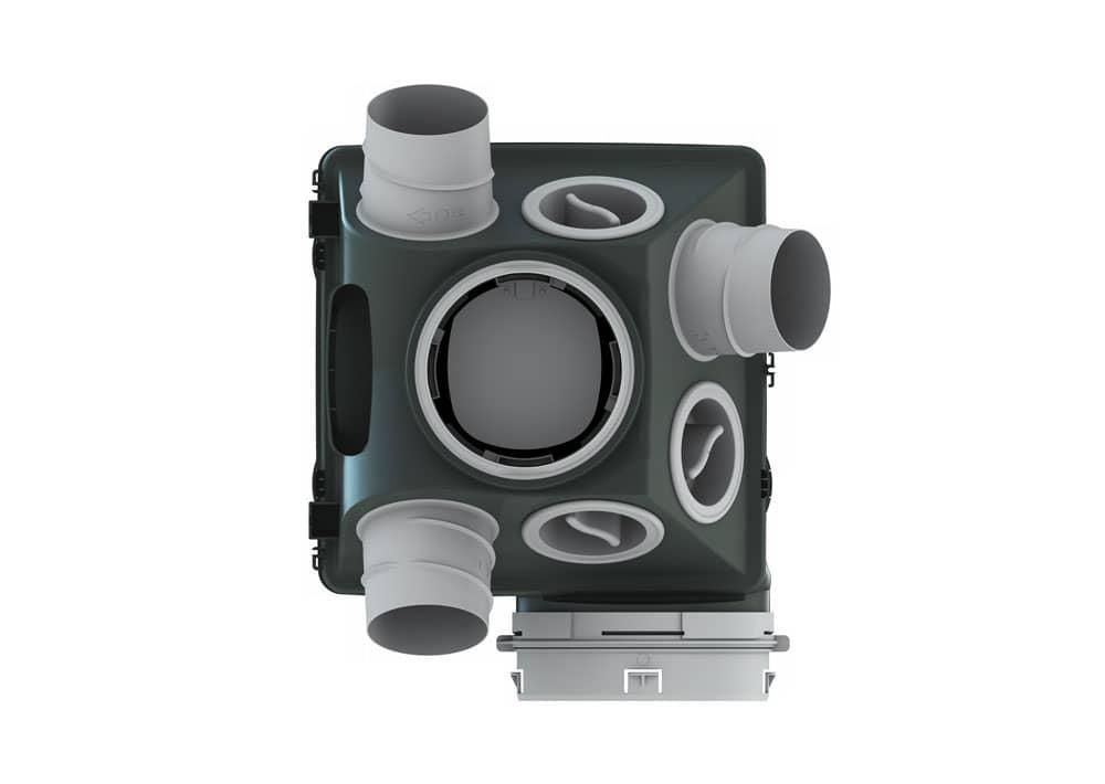 vmc silencieuse good kit microgem ultraplate avec bouches. Black Bedroom Furniture Sets. Home Design Ideas