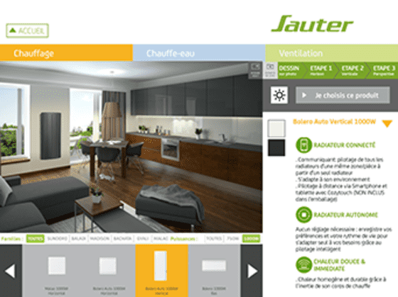 dcouvrez le simulateur dco sauter with sauter marapi. Black Bedroom Furniture Sets. Home Design Ideas