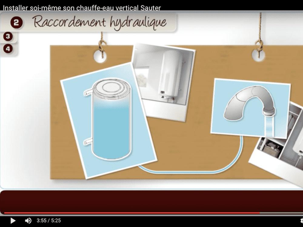 Installer chauffe-eau électrique