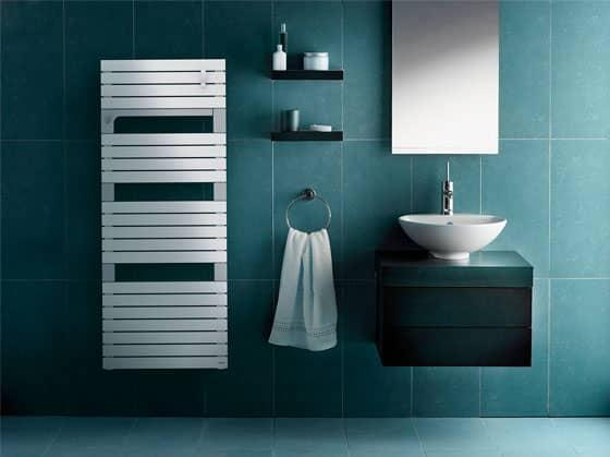 Radiateur sèche-serviettes électrique et eau chaude Asama
