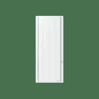 Radiateur à chaleur douce et inertie programmable Boléro Vertical Auto adapt Blanc 1000W