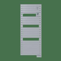 Radiateur sèche-serviettes Classic acier Asama 750W