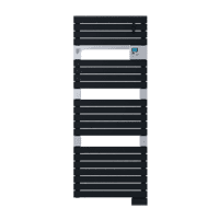 Radiateur sèche-serviettes Classic anthracite Asama 750W