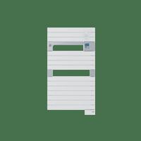 Radiateur sèche-serviettes Classic blanc Asama 500W