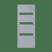 Radiateur sèche-serviettes eau chaude acier Asama 715 W