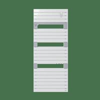 Radiateur sèche-serviettes eau chaude blanc Asama 715 W