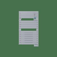 Radiateur sèche-serviettes ventil 3CS acier Asama 1500W