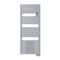 Radiateur sèche-serviettes ventil 3CS acier Asama 1750W