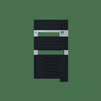 Radiateur sèche-serviettes ventil 3CS anthracite Asama 1500W