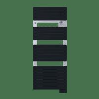 Radiateur sèche-serviettes ventil 3CS anthracite Asama 1750W