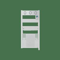 Radiateur sèche-serviettes eau chaude Marapi Ventilo 1500 W
