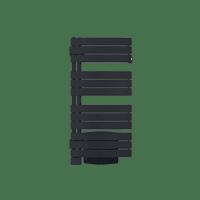 Radiateur sèche-serviettes Venise Pivotant Ventilo anthracite 1500 W