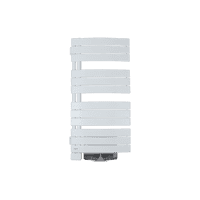 Radiateur sèche-serviettes Venise Pivotant Ventilo blanc 1500  W