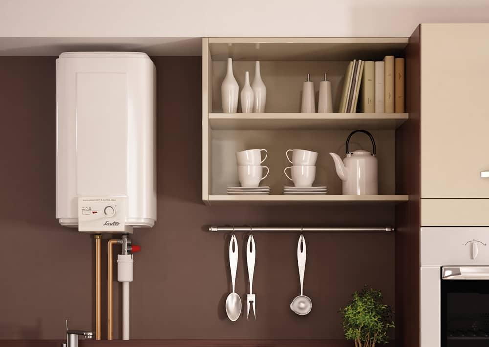 chauffe eau d 39 appoint sur vier confort sauter. Black Bedroom Furniture Sets. Home Design Ideas