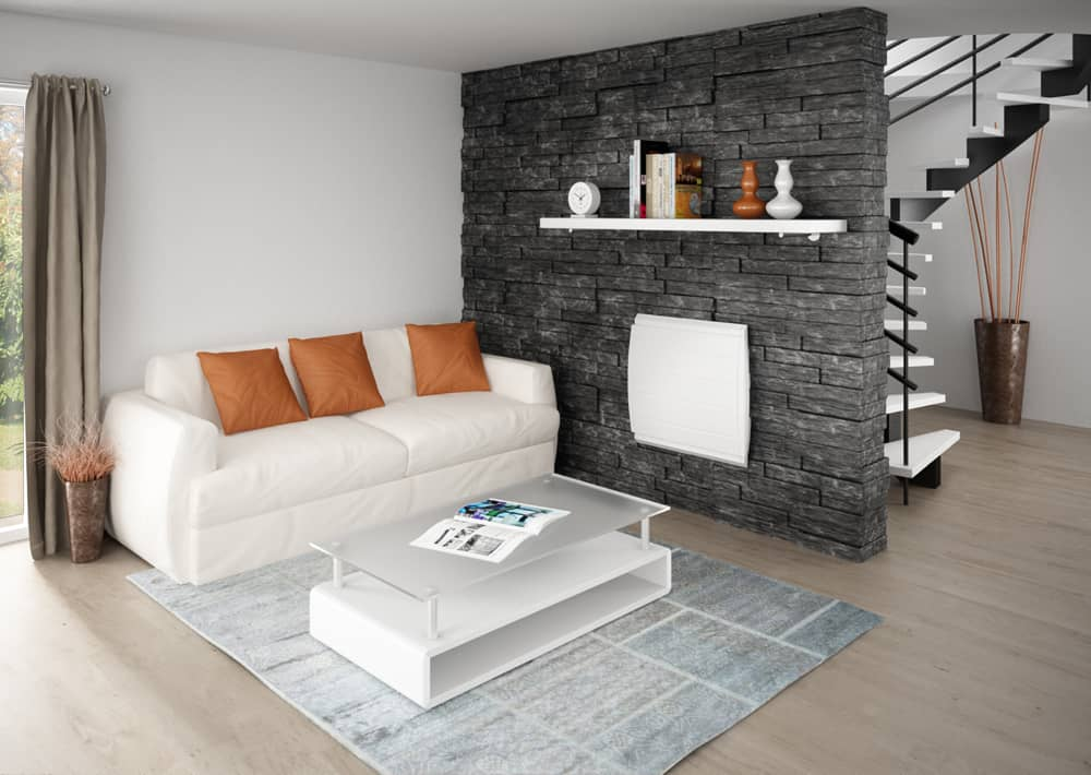 radiateur connect inertie fonte bol ro horizontal confort sauter. Black Bedroom Furniture Sets. Home Design Ideas