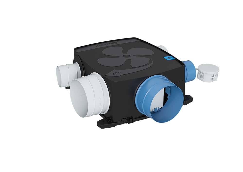 Vmc Simple Flux Auto Réglable Agalina Extra Plat Kit Confort Sauter