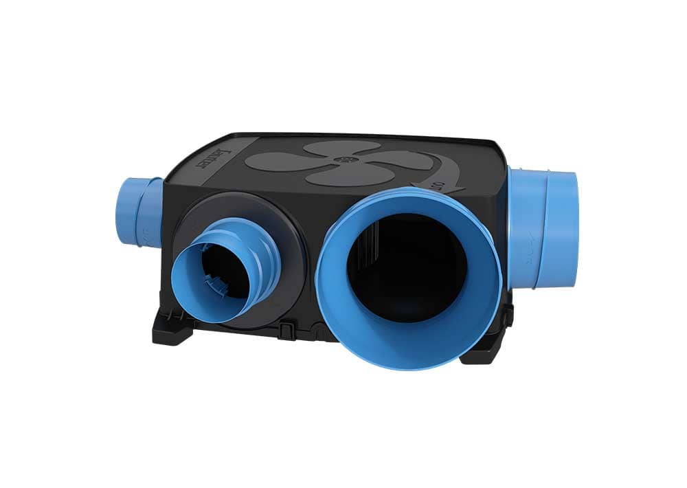 Vmc simple flux hygror glable gauli basse consommation extra plat kit confort sauter - Vmc hygroreglable basse consommation ...