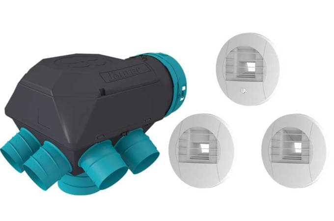 Vmc simple flux hygror glable gauli classique kit for Ventilation simple flux hygroreglable