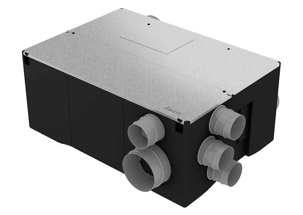 Vmc double flux haut rendement gorner kit confort sauter for Ventilation double flux prix
